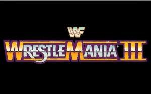 WrestleMania-3-logo